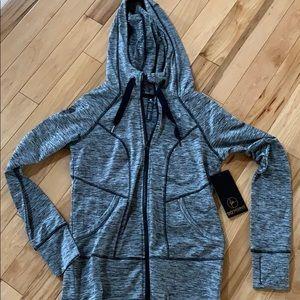 90 degree by reflex zip up hoodie